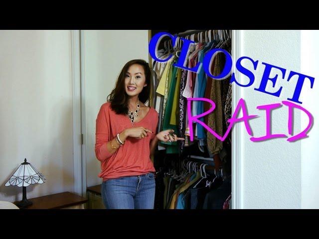CLOSET RAID - Mom's Closet