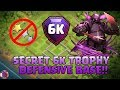 Clash Of Clans | TH11 SECRET 6K TROPHY DEFENSE BASE 2017(REPLY)