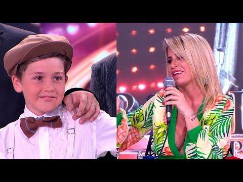 """A Flor Peña le tocó calificar a su propio hijo en su debut en la pista de Bailando: """"¡Bancatelá!"""""""