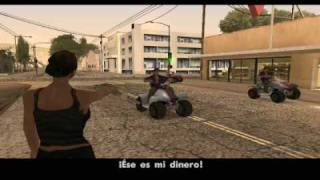 Gta San Andreas - Misión 33 - Gone Courting / Local Liquor Store (PC)