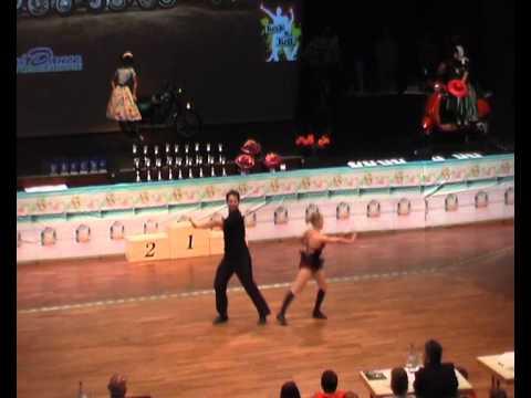 Melanie Franke & Tobias Bludau - Süddeutsche Meisterschaft 2011