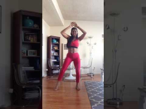 Carolina Catalino Bailando y Quemando