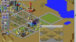 Simcity 2000 - Gameplay (With Urban Renewal Kit)