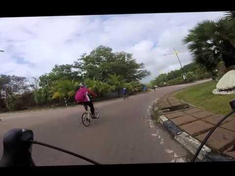 Cycling 216 km East to West coast of Peninsular Malaysia