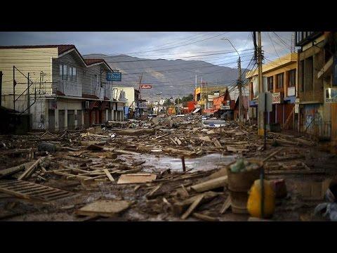 Seven dead as devastating floods hit Chile