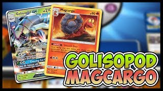 Golisopod GX / Magcargo  - Pokemon TCG Online Gameplay