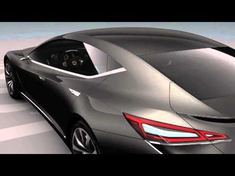 2010 Paris Motor Show - The new Lotus Eterne