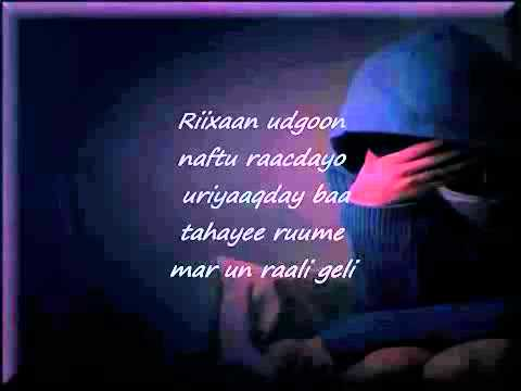 Xawo Kiin-ha Iga Roorin-(lyrics) video