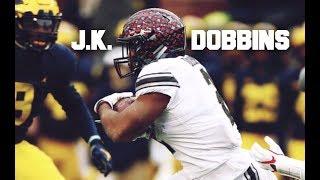 JK Dobbins || 2017 Ohio State Highlight Mix