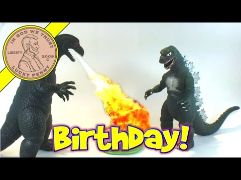 Leapfrog Counting Candles Birthday Cake Toy (Funny Spoof) With Godzilla and Monkey Kids Toy Reviews