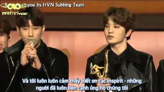 [Vietsub] 150115 29th Golden Disk Award - INFINITE Disk Bonsang Awards