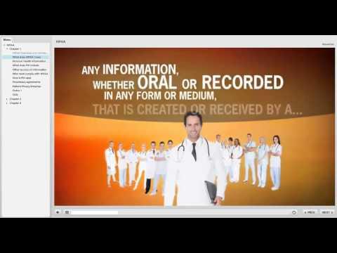 Health Insurance Portability and Accountability Act (HIPAA) Compliance