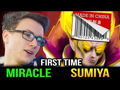 Miracle Tinker VS Invoker Made in China - It's Close Dota 2