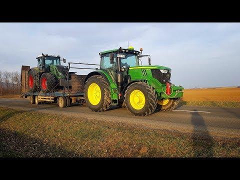 Csele-Delta Kft.  Fendt 933 Transport John Deere 6175R, Landini&Horsch Pronto, 2019