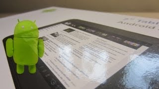 Unboxing: Ennovia Android Tablet