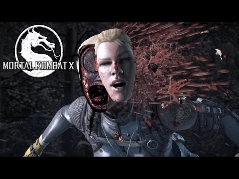 Mortal Kombat X | All Fatalities With Every Character! (HD 60FPS)