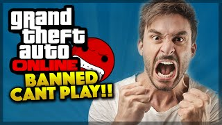 how to get unbanned on gta online pc