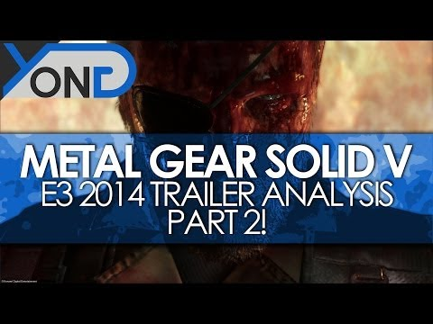 Metal Gear Solid V - E3 2014 Trailer Analysis Part 2! ZEKE, Diamond Knives, Skull Face!