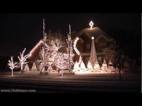 Holdman Christmas Lights 2010 - Complete Show Music Videos