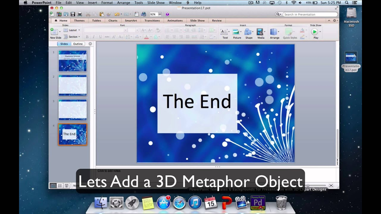 Mac Powerpoint Template