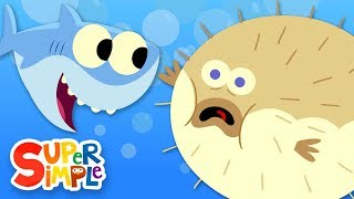 10 Little Fishies - Featuring Baby Shark! | Kids Songs | Super Simple Songs
