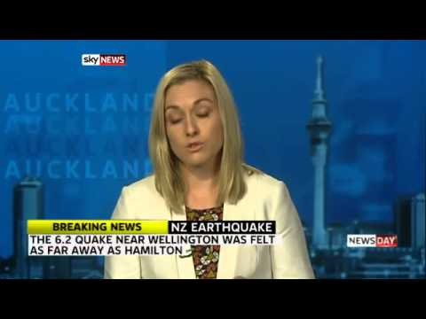 New Zealand hit by strong quake - Today's News