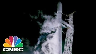 SpaceX Launches Falcon 9 To Deliver Satellites   CNBC
