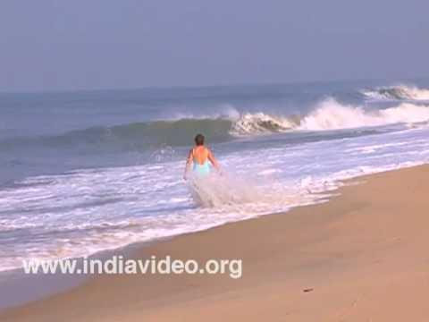 Beach Marari Alappuzha Kerala Arabian Sea
