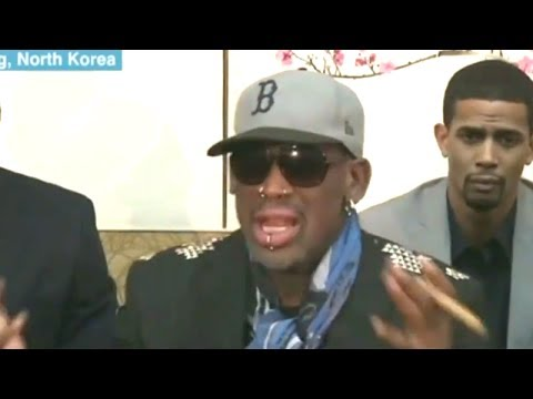 Dennis Rodman Was Drunk On CNN Says Sober Dennis Rodman