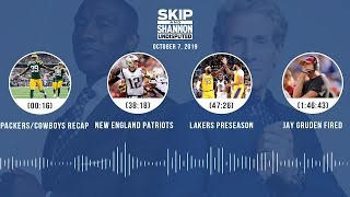 UNDISPUTED Audio Podcast (10.07.19) with Skip Bayless, Shannon Sharpe & Jenny Taft | UNDISPUTED