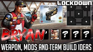 TWD RTS: Bryan: Weapon, Mods and Team Build Ideas - The Walking Dead: Road to Survival