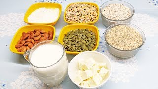 What are Some Protein Rich Foods? Veg High Protein Foods | Protein Foods for Vegetarians | Sources