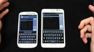 Samsung Galaxy S III vs. Samsung Galaxy Note Dogfight Part 2