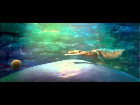 La Era de Hielo 4 La Deriva Continental Trailer 1 Español Latino 3D