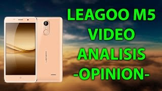 LEAGOO M5 - VIDEO ANALISIS - REVIEW