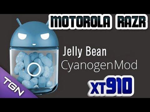 Tutorial - Como Instalar ROM Cyanogenmod 10.1 - Motorola Razr XT 910