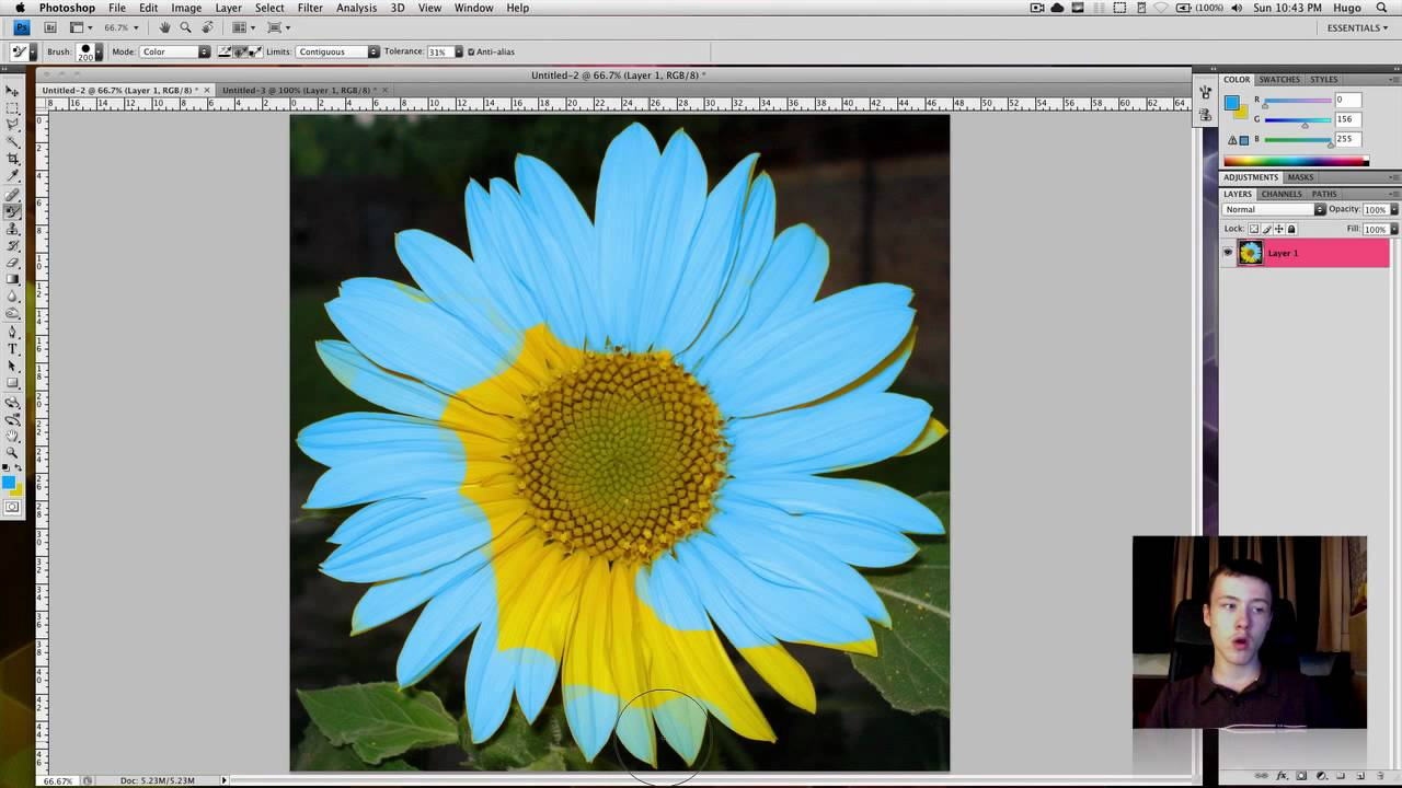 How To Change The Color Of An Object In Photoshop 28