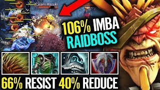 New Cancer Build - 40 Armor Bristleback & jungle Farm Dota 2 Divine