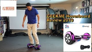 Geekme Hoverboard Self balance Scooter review UK and how to ride a Hooverboard