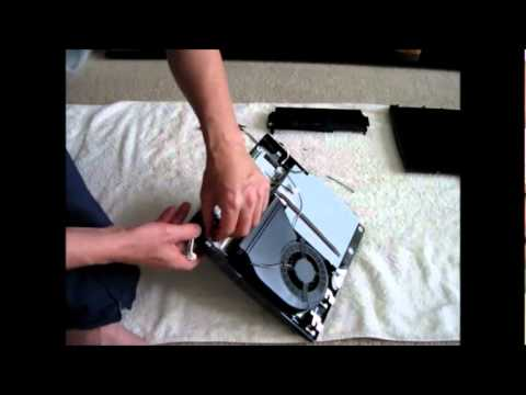 How to Clean PS3 Slim (remove internal dust)