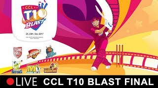 CCL T10 Blast Final Match Live I Telugu Warriors VS Kerala strikers I Dec 25th