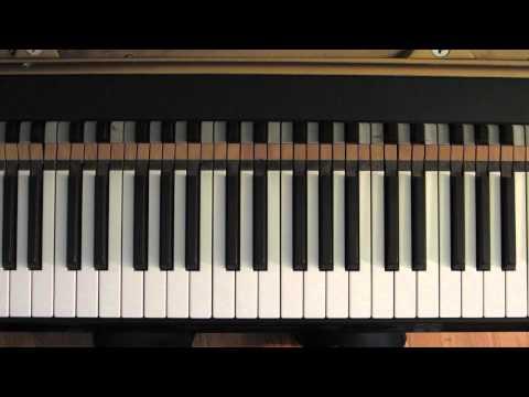 Chord Tone Improvisation - Exercise #7 - Ascending Chromatic Jazz Blues (Jazz Piano Lesson)