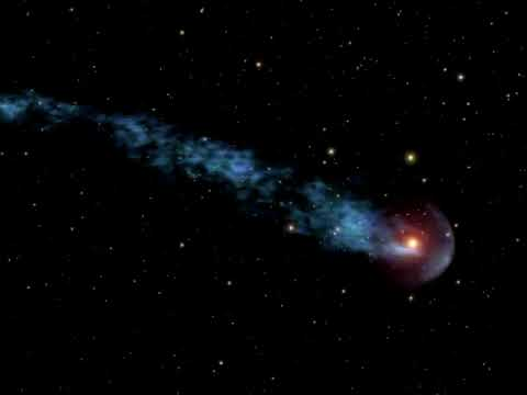 Visualization of Mira Moving Through Space (2007.08.17)