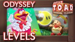 Captain Toad - Treasure Tracker (Switch): All Super Mario Odyssey Levels