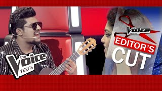 Coach Sanuka | Ciao Malli  Blind Auditions | The Voice Teens Sri Lanka