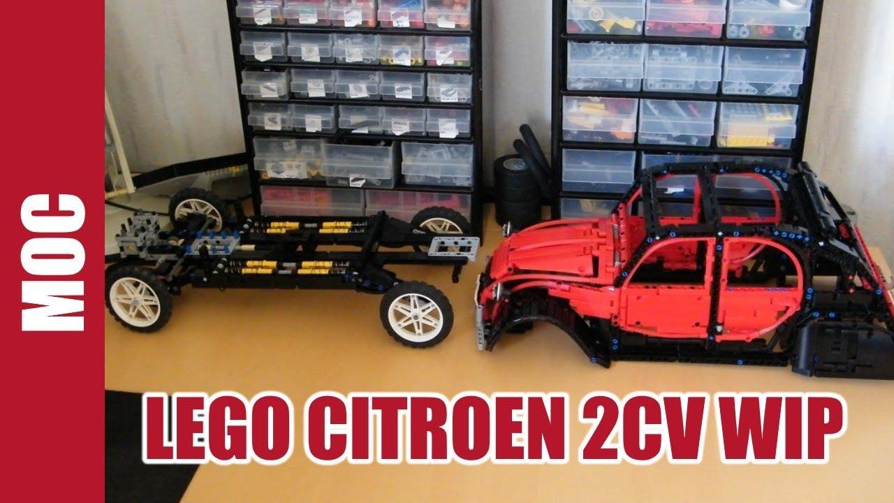 2cv Charleston Interior Lego Citroen 2cv Charleston by