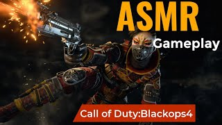 ASMR GAMING |Call of Duty:BlackOps4 | Hardcore Multiplayer(whispering sounds)🎧(controller sounds)🎮