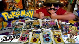 EVERY NEW POKEMON CARD TEAM UP BLISTER PACK OPENING! SHOPPING AT CARLS FOR HAUL OF BOOSTER PACKS!!