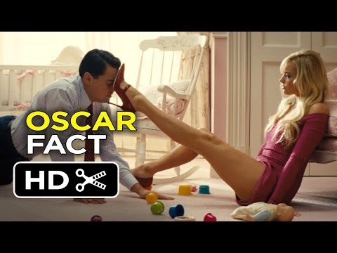 The Wolf Of Wall Street Oscar Film Fact 2013 Leonardo ...