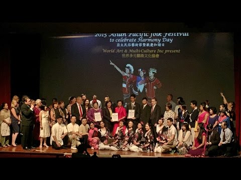 2015-03-08 {Part 1} Asia Pacific Folk Festival to celebrate Harmony Week hosted by WAMCI